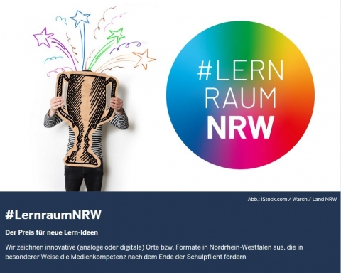 Screenshot https://www.land.nrw/lernraumnrw
