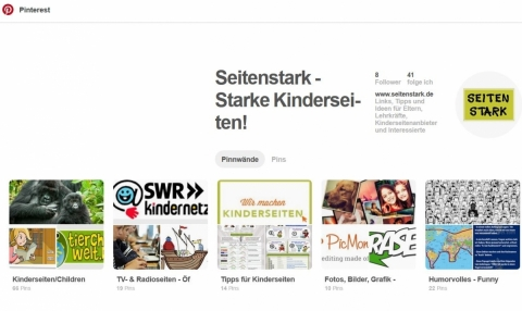 Screenshot www.pinterest.de/seitenstark/
